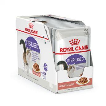 Royal Canin Sterilised Gravy Wet  (12x85g)