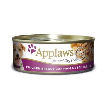 Applaws Dog Chicken, Ham & Vegetables