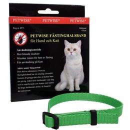 Petwise flåtthalsbånd katt