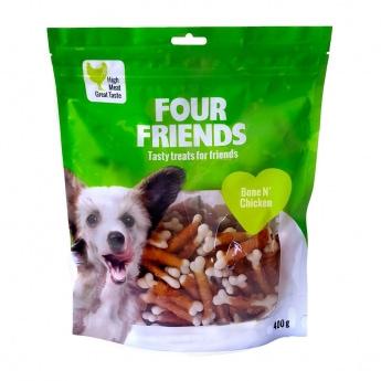 FourFriends Dog Bone N' Chicken 400 g