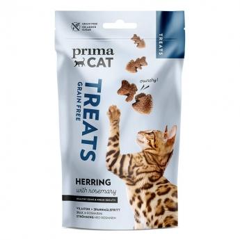 PrimaCat Crunchy Grain Free Herring with Rosemary 40 g