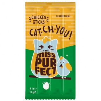 Miss Purfect Cat Sticks Kylling 40 g
