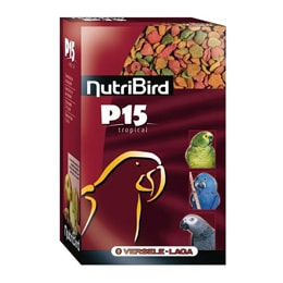 NutriBird P15 papegøyepellets Tropical (1 kg)