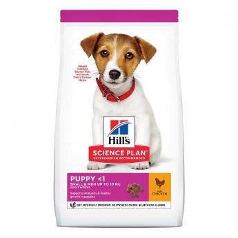 Hill's Science Plan Puppy Small & Mini Kylling