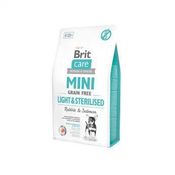 Brit Care Mini Grain Free Light & Sterilised (2 kg)