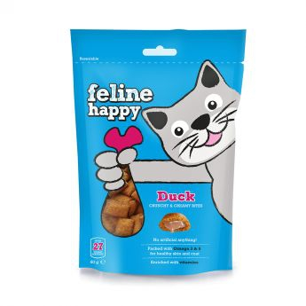 Feline Happy And Kattegodteri 60 g