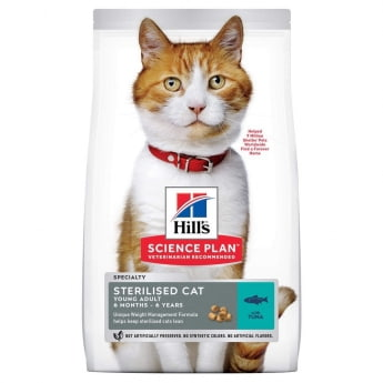 Hill's Science Plan Cat Young Adult Sterilised Tunfisk