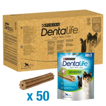 Purina Dentalife Medium Storpakning 50-pakke