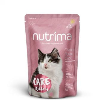 Nutrima Care Kitten Kylling, Kalkun & And