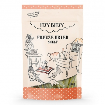 ItsyBitsy Cat Freeze Dried Smelt