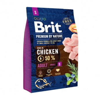 Brit Premium By Nature Dog Adult Small Chicken