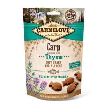 Carnilove Dog Semi Moist Snack Carp & Thyme