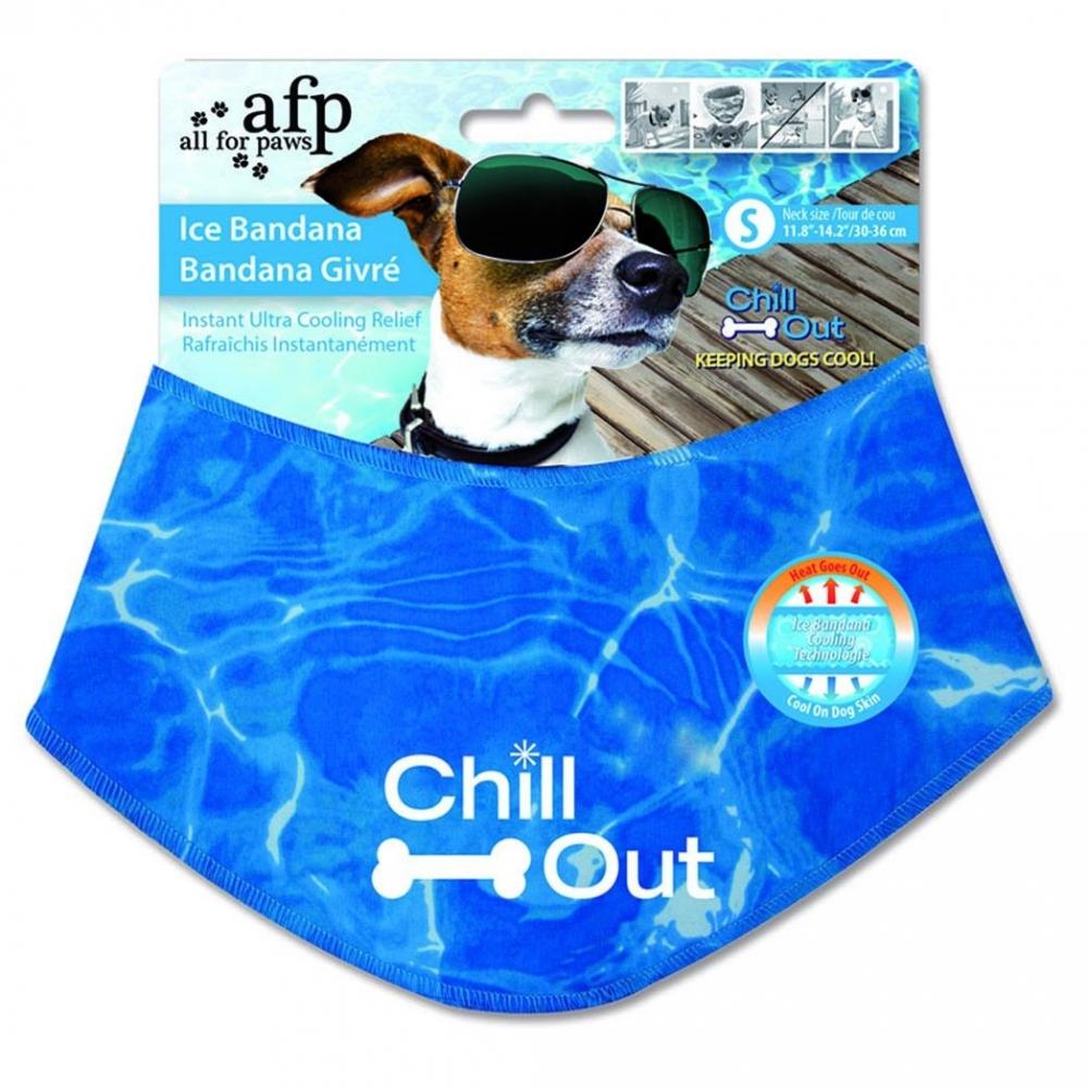 Bilde av All For Paws Chill Out Ice Bandana (m)