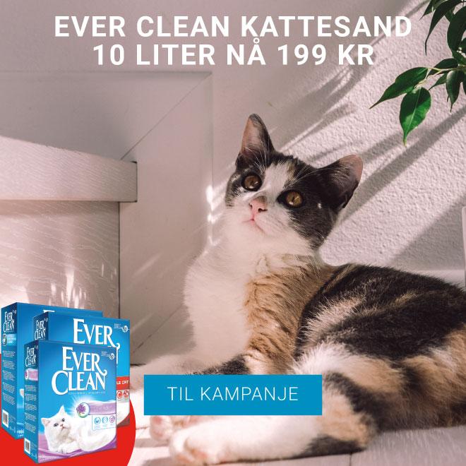 Ever Clean Kattesand 10 liter nå 199 kr