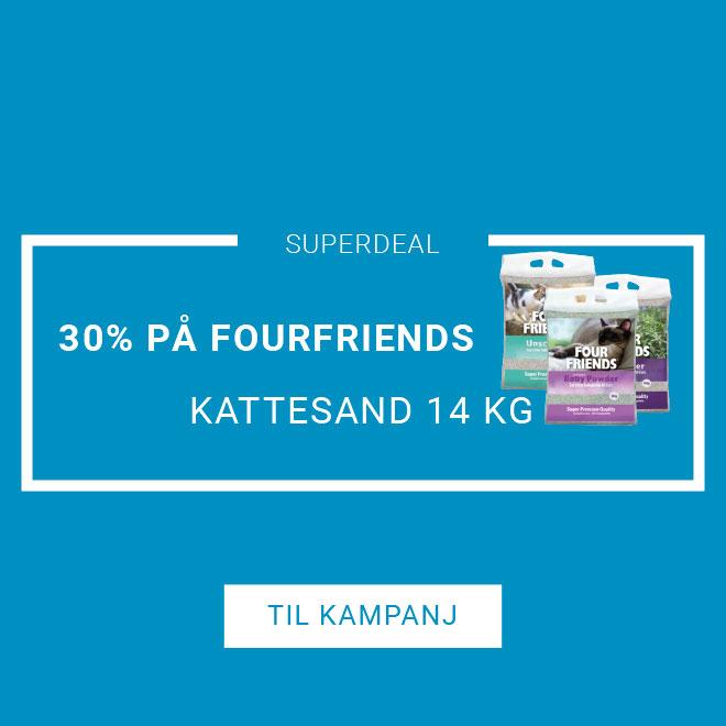 20% på GourFriedns Kattesand 14 kg