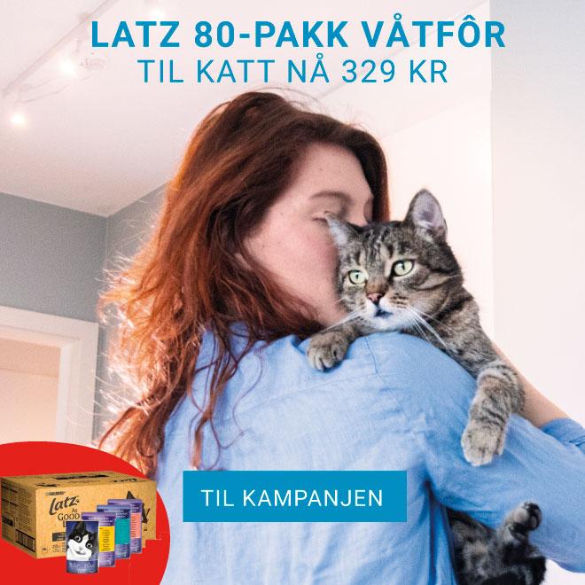 Kampanje på Latz våtfôr til katt