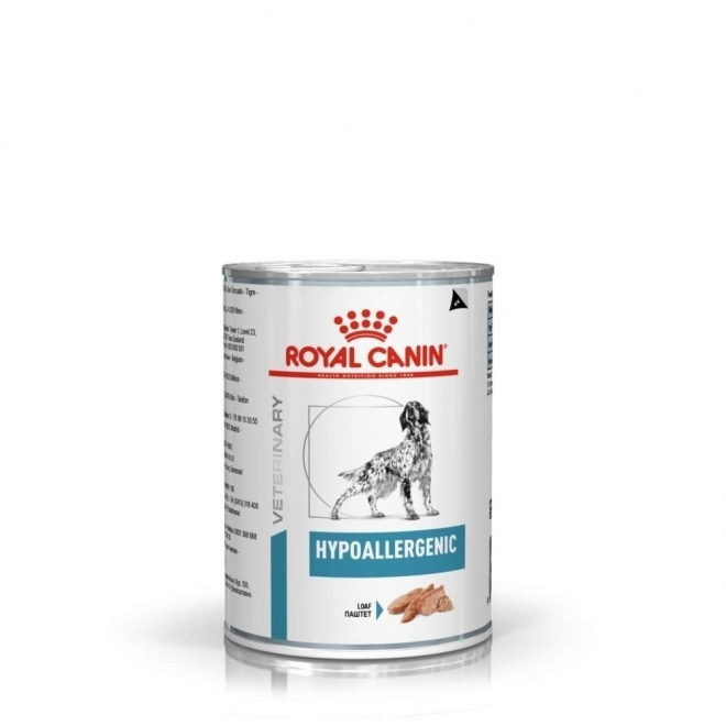 Royal Canin Veterinary Diets Dog Hypoallergenic Loaf 12x400 g