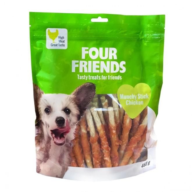 FourFriends Dog Munchy Stick Chicken 40-pakke