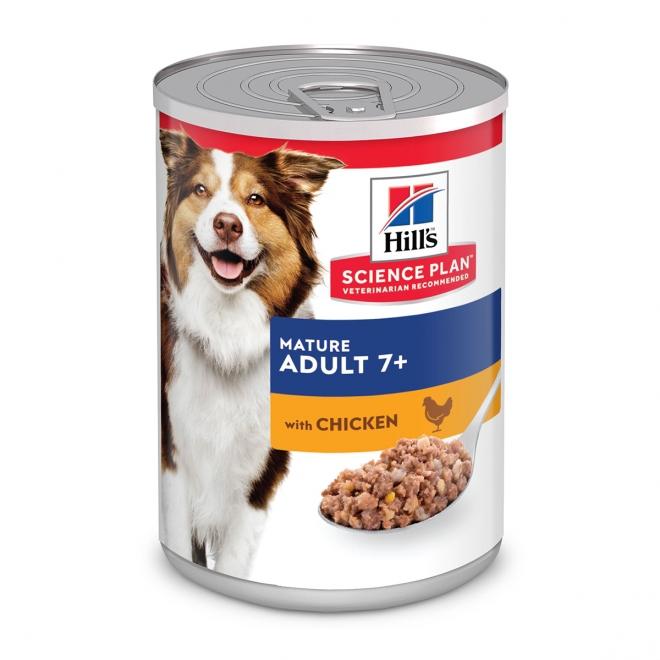 Hill´s Science Plan Dog Mature 7+ Chicken 370 g