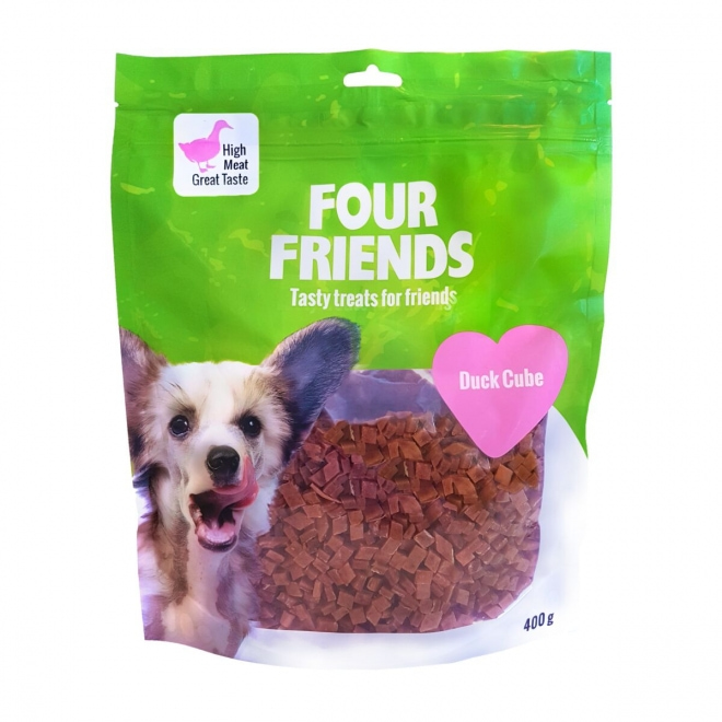 FourFriends Dog Duck Cube 400 g