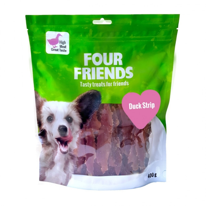 FourFriends Dog Duck Strip 400 g
