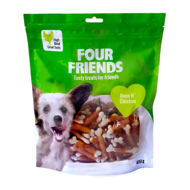 FourFriends Dog Bone N' Chicken 400 g