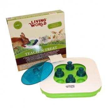 Living World 5 In 1 Teach'n Treat Smådjursleksak