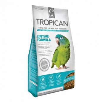 TROPICAN Lifetime Formula Papegojfoder 820 g