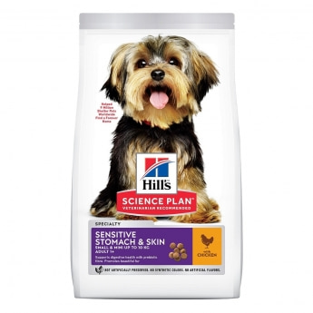 Hill's Science Plan Dog Adult Small & Mini Sensitive Stomach & Skin