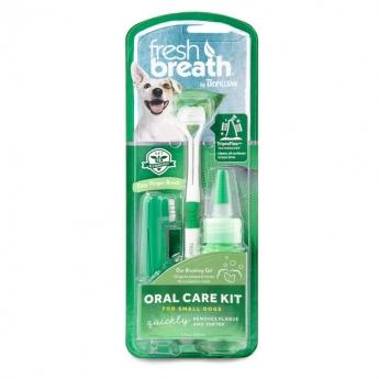 Tropiclean Fresh Breath Oral Care Kit (Small)
