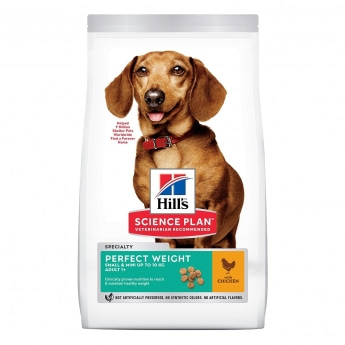 Hill's Science Plan Dog Adult Perfect Weight Small & Mini Chicken