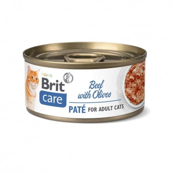 Brit Care Cat Adult Paté Nötkött 70 g