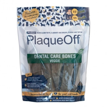 PlaqueOff Dental Care Bones Vegetarisk