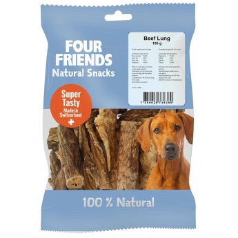 FourFriends Dog Natural Snack Beef Lung (100 g)
