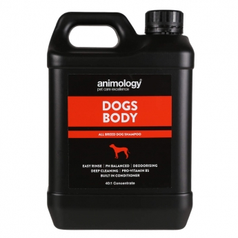Animology Dogs Body Schampo (2,5 l)