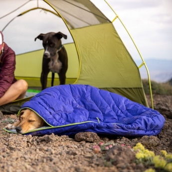 RuffWear Highlands Hundsovsäck Lila