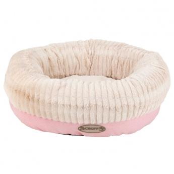 Scruffs Ellen Donut Hundbädd Rosa