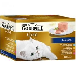 Gourmet Gold Mousse Kött & Fisk