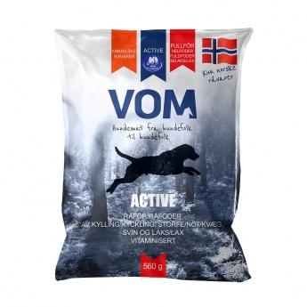 VOM & Hundemat Active Lax Köttbullar (560 g)