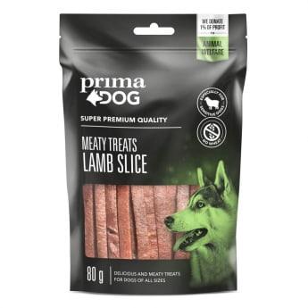 PrimaDog Meaty Treats Lamb Slice 80 g