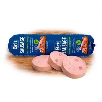 Brit Premium Köttkorvar Kyckling & Hjort