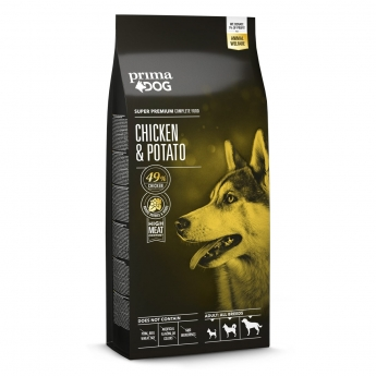 PrimaDog Adult All Breeds Chicken & Potato (12 kg)