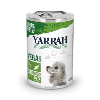 Yarrah Organic Dog Vegetarian Chunks 380 g