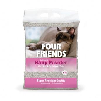 FourFriends Baby Powder Kattsand 14 kg