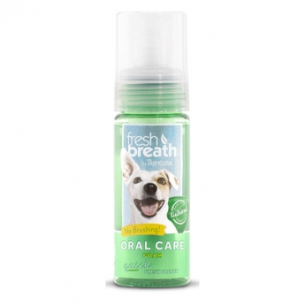 Tropiclean Fresh Breath Oral Care Mint Foam 133 ml