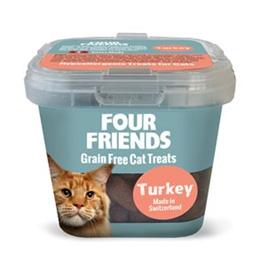 FourFriends Cat Treats Turkey 100 g