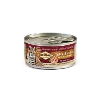Carnilove Cat Adult Turkey & Reindeer 100 g