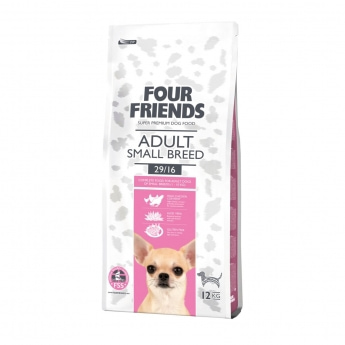 FourFriends Dog Adult Small Breed (12 kg)
