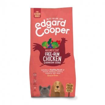 Edgard & Cooper Dog Senior Grain-Free Kyckling & Lax (7 kg)