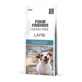 FourFriends Dog Grain Free Lamb (12 kg)